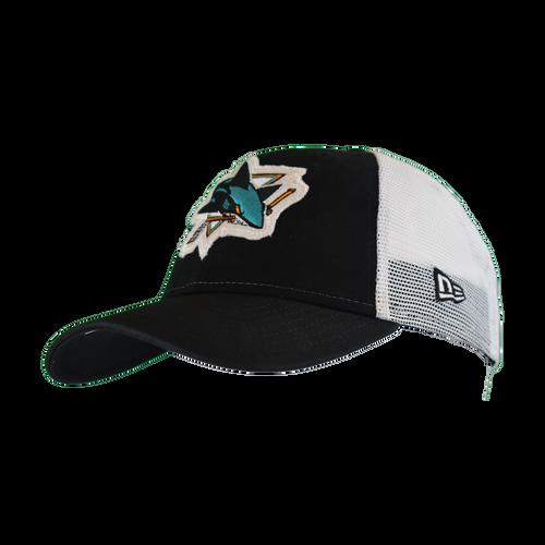 San Jose Sharks Men's  New Era Truckered 9Fifty Adjustable Hat