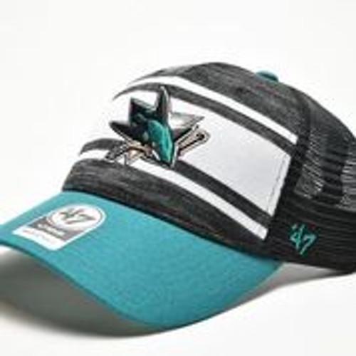 San Jose Sharks Men's  47 Brand Power Play Adjustable Hat