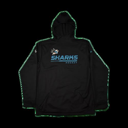 San Jose Sharks Youth Outerstuff Locker Room Hoodie