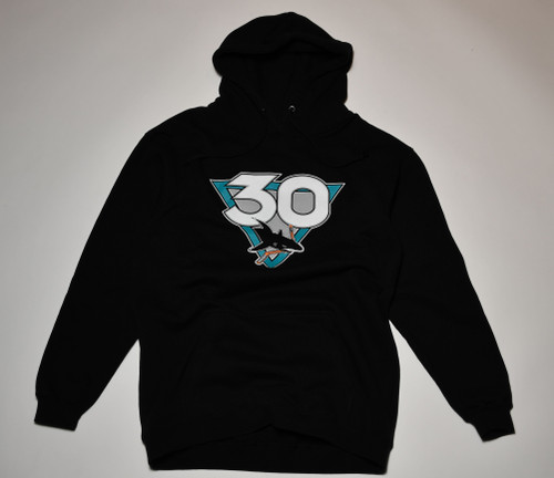 San Jose Sharks Youth Graphic Sportswear 30th Anniversary Logo Hoodie