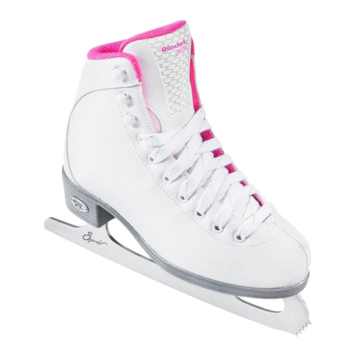 Riedell 18 Sparkle Girls Figure Skates