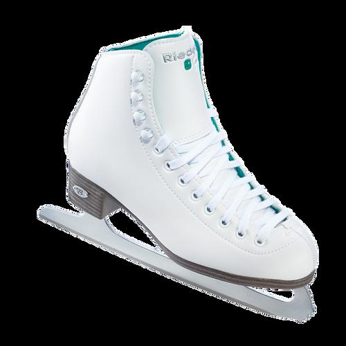 Riedell 10 Opal Girls Figure Skates