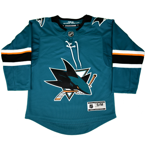 San Jose Sharks Boys Outerstuff Replica Home Jersey