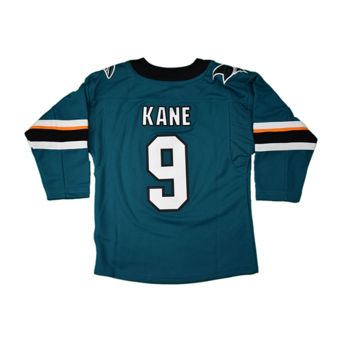 San Jose Sharks Boys Outerstuff Home Jersey - Evander Kane