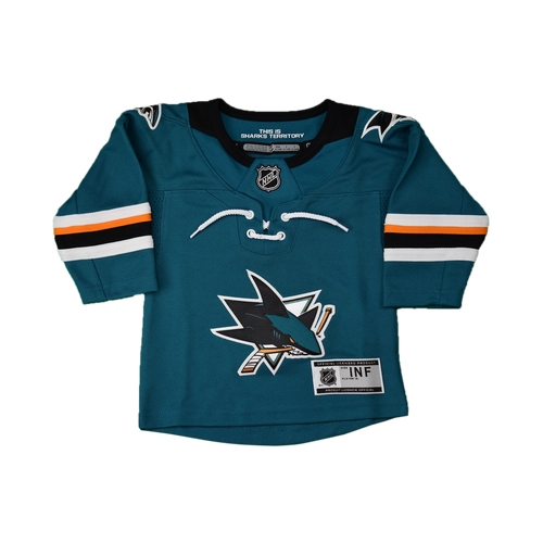 San Jose Sharks Infant Outerstuff Home Jersey