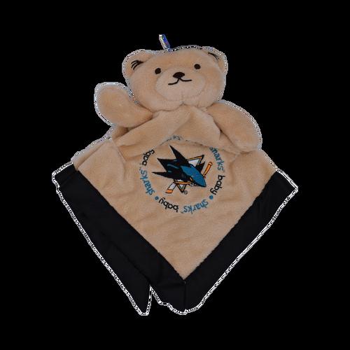 San Jose Sharks Baby Security Bear Blanket