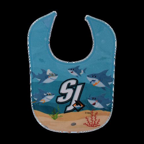 San Jose Sharks Wincraft Baby Shark Bib