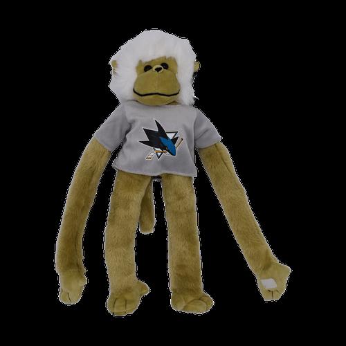 San Jose Sharks Forever Collectibles Plush Clinger Monkey