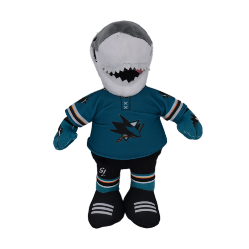 """San Jose Sharks Forever Collectibles 9"""" Fuzzy Plush Mascot"""