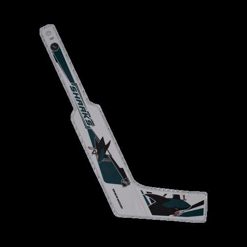 San Jose Sharks Inglasco Inc. Mini Goalie Stick Plastic