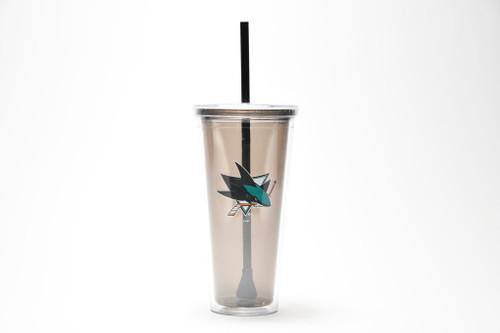 San Jose Sharks Boelter Brands Tumbler w/ Straw