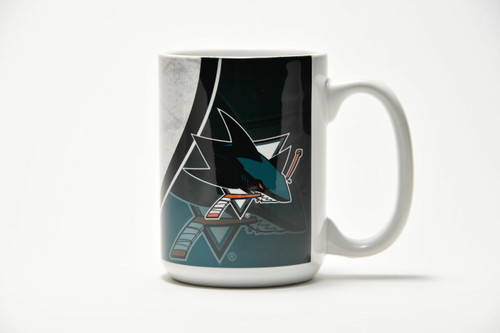 San Jose Sharks Boelter Brands LLC Rink Mug