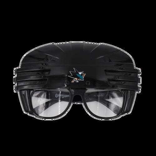 San Jose Sharks Rico Industies Inc Novelty Glasses