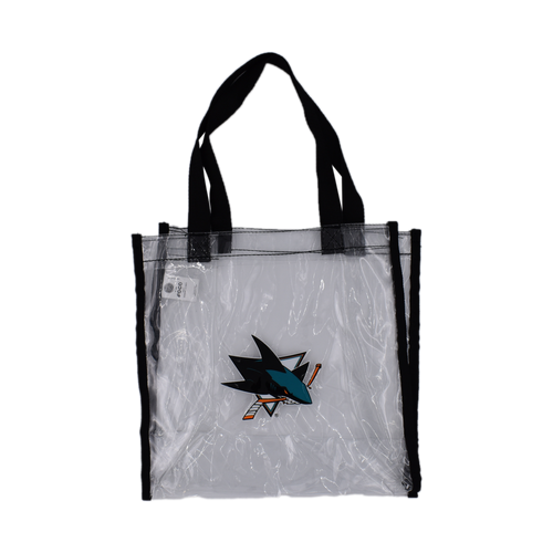San Jose Sharks Forever Collectibles Clear Reusable Bag