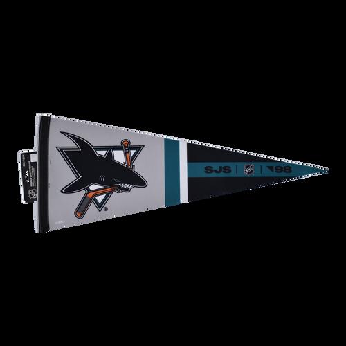 San Jose Sharks Wincraft 12x30 Reverse Retro Pennant