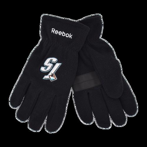 San Jose Sharks Reebok Fleece Glove
