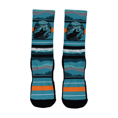 San Jose Sharks Open Water Sock-L/XL