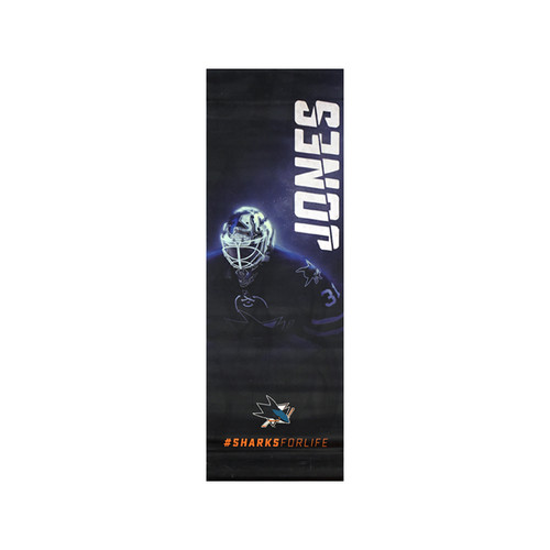 Sharks For Life Street Banner - Martin Jones