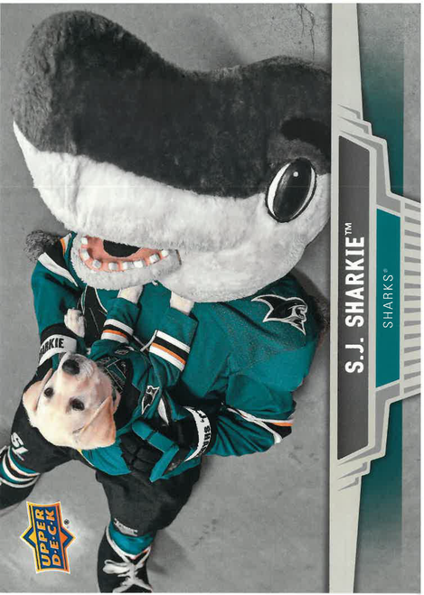 SJ Sharkie Upper Deck Card Set