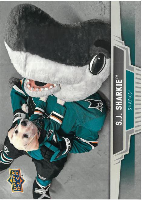 SJ Sharkie Upper Deck Card Set