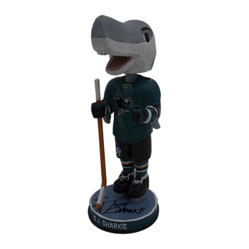 "Signed SJ Sharkie Appearance Exclusive XL 10.5"" Bobblehead"