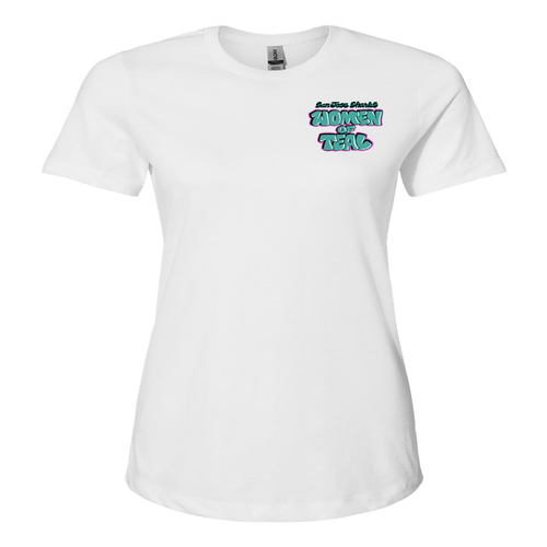 San Jose Sharks Women Of Teal Tee
