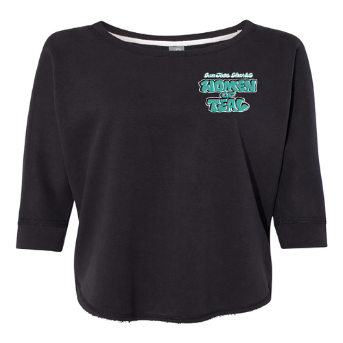 San Jose Sharks Women Of Teal Sweatshirt