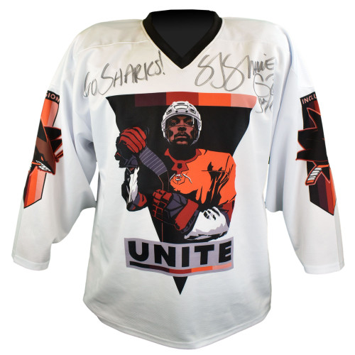 Signed SJ Sharkie 2021 Inclusion One-of-a-Kind Jersey