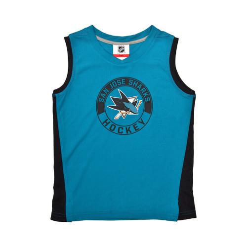 San Jose Sharks Youth Tank/Short Combo