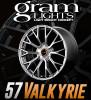 57 Valkyrie 18x9.5 +40 (all four) SUNLIGHT SILVER