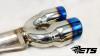 ETS 2015+ Subaru WRX/STI Axle Back Exhaust System - No Muffler (BT)