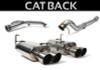 Perrin Catback Exhaust (Non-Resonated) - 2015+ WRX/STI