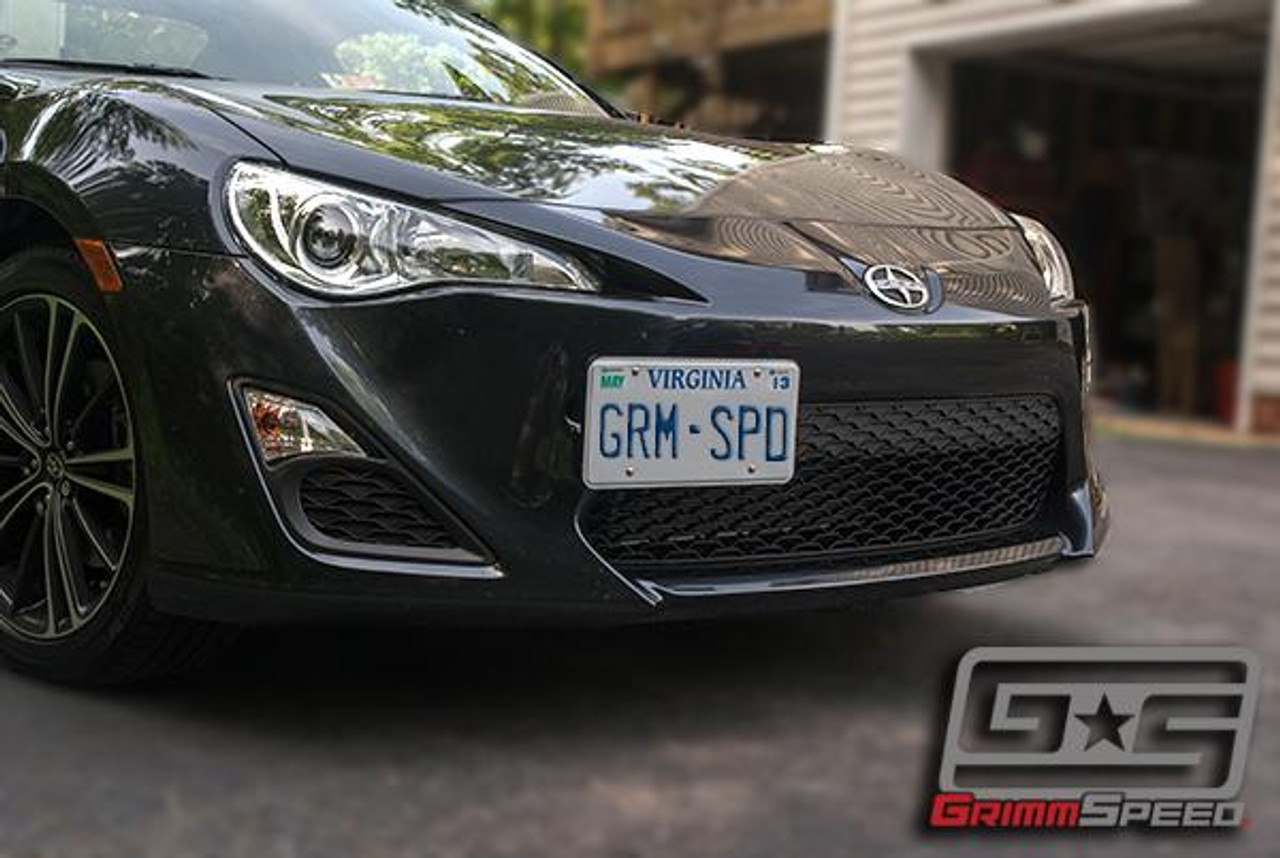 094029   -GrimmSpeed License Plate Relocation Kit SUBARU -BRZ -SCION FR-S