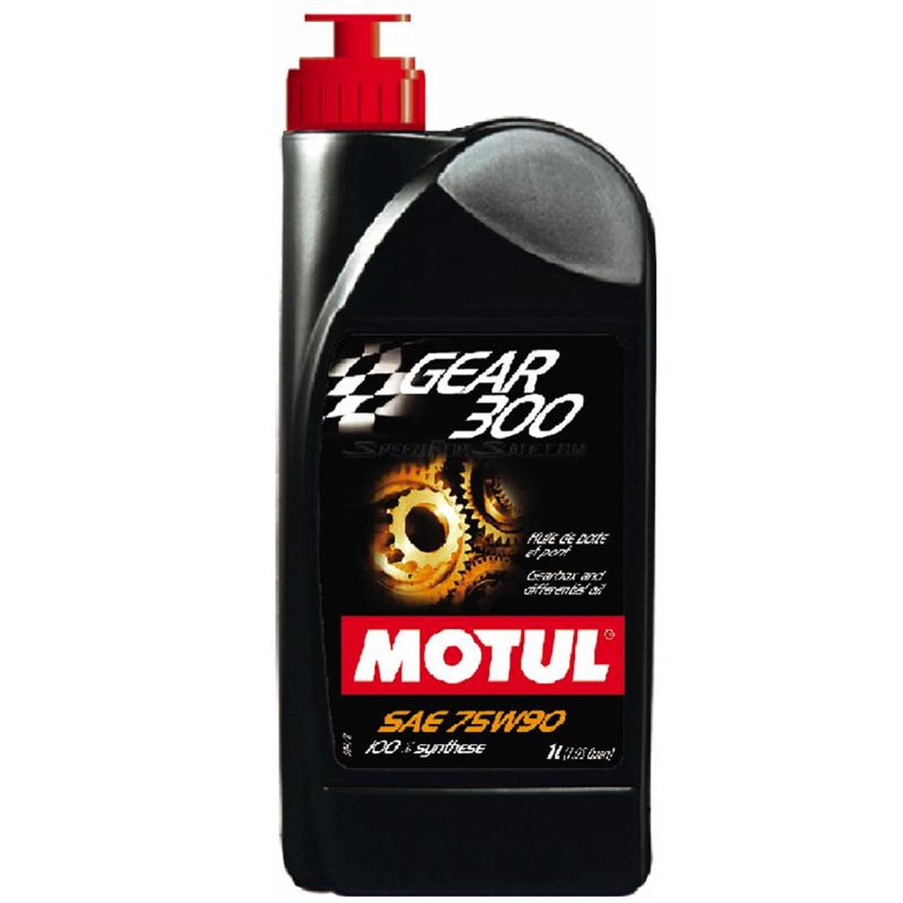 100118  -MOTUL Gear Fluid - Gear 300  Size: 1L Bottle (1.05 qt)