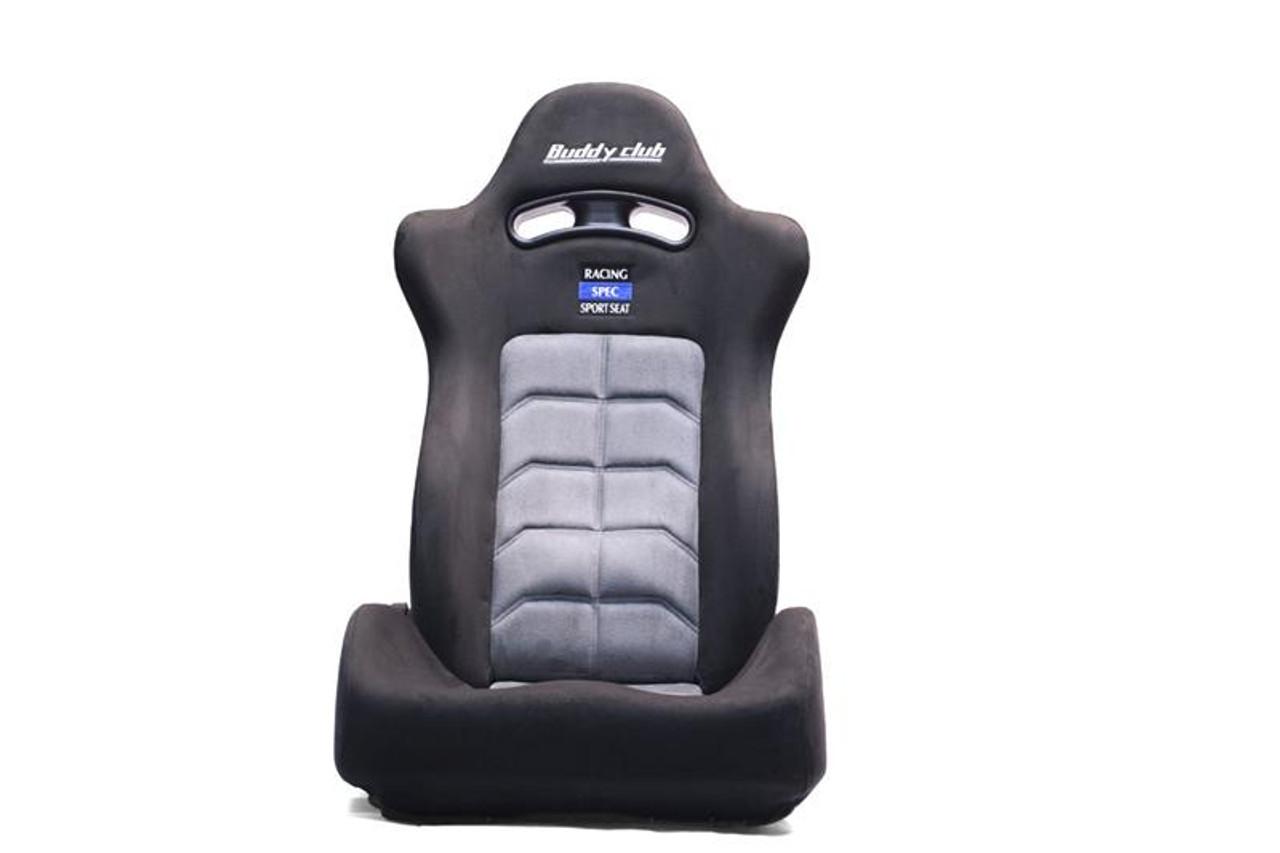 BC08-RSSS-B1  -Buddy Club Seats - Racing Spec Sport Reclinable  Color: Black