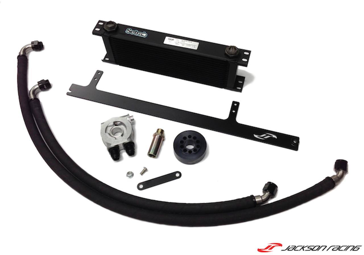 Jackson Racing Track Engine Oil Cooler Kit FRS/BRZ