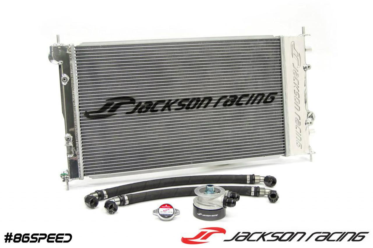 Jackson Racing Dual Radiator/Oil Cooler FRS/BRZ