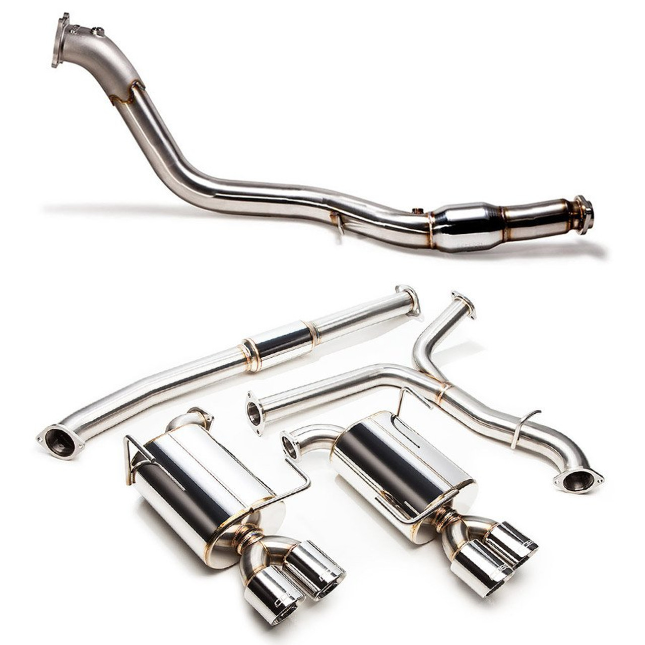 "COBB Stainless Steel 3""Turbo Back Exhaust System - 2015+ STI"