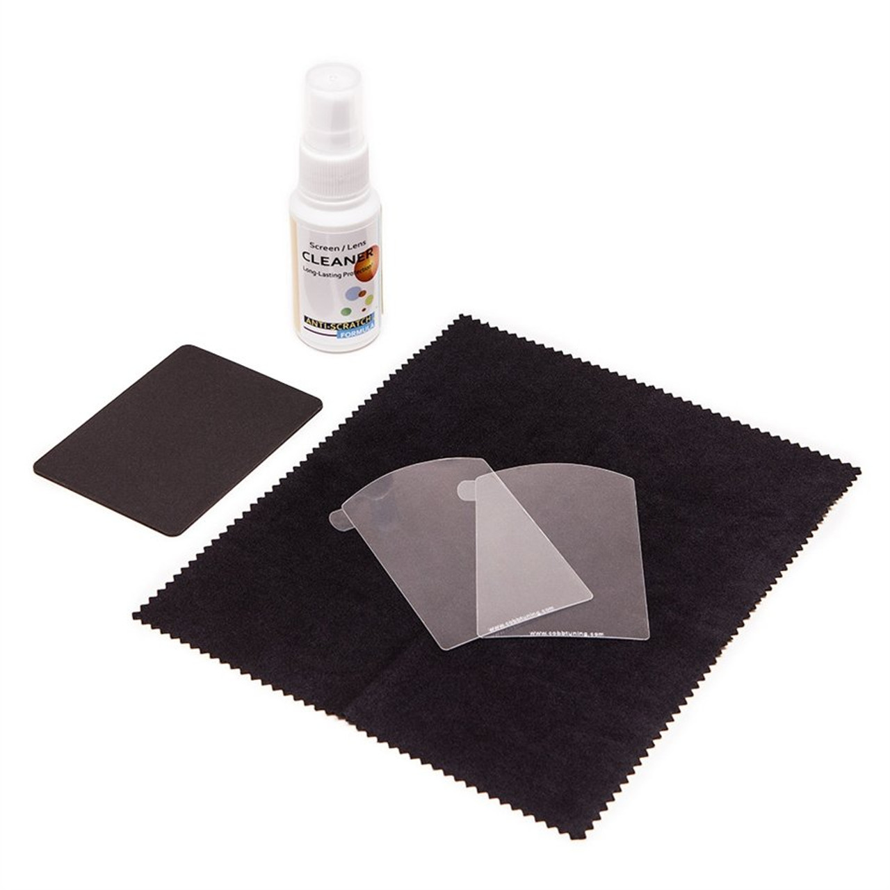 Anti Glare Protective Film and Cleaning Kit