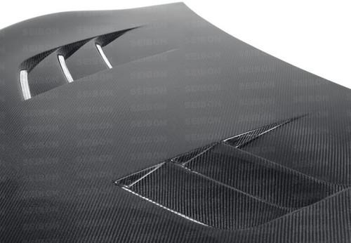 HD1213SCNFRS-TS   -SEIBON Carbon Fiber Hood SUBARU -BRZ -SCION FR-S