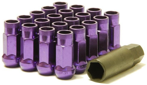 32905L  -Muteki SR48 Lug Nuts  Color: Purple; Length: 48mm; Size: 12X1.25