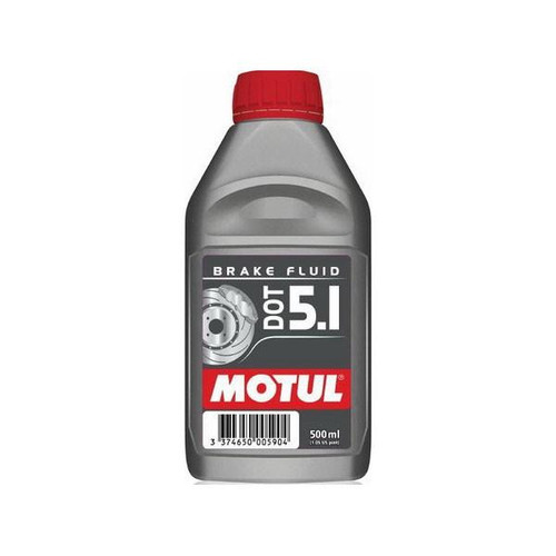 100951  -MOTUL Brake Fluid - DOT 5.1  Size: 1/2L Bottle (16.9 fl.oz.)