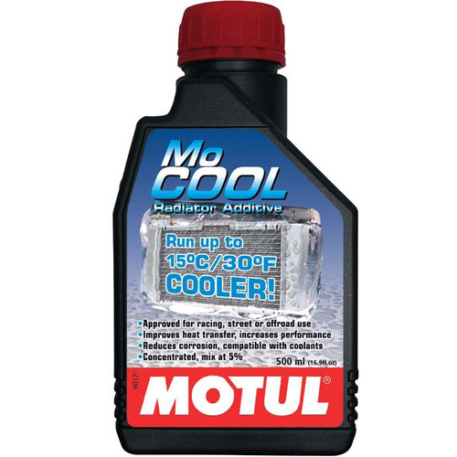 102222  -MOTUL Coolant - MoCOOL Radiator Fluid  Size: 1/2L Bottle (16.9 fl.oz.)
