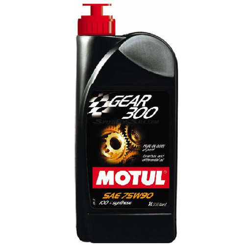 100118  -MOTUL Gear Fluid - Gear 300  Size: 1L Bottle (1.05 qt)