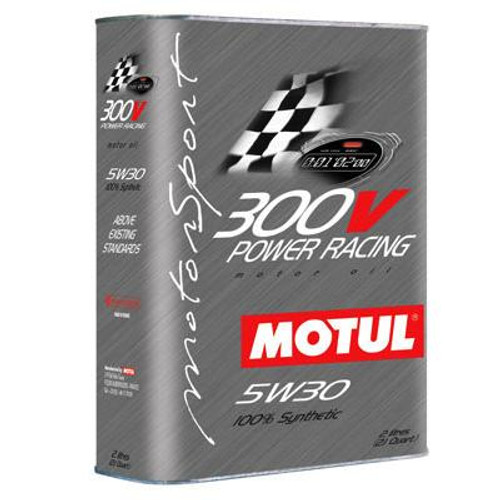 101189  -MOTUL Motor Oil - 300V Synthetic  Size: 2L Bottle (2.1 qt)