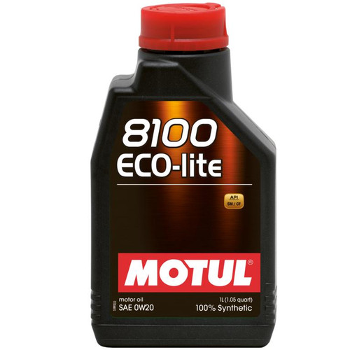 101525  -MOTUL Motor Oil - 8100 Series   Size: 1L Bottle (1.05 qt)