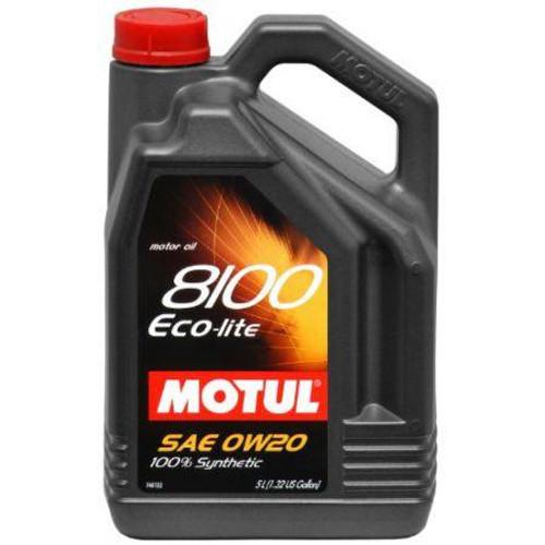 101526  -MOTUL Motor Oil - 8100 Series   Size: 5L Jug (1.3 gal)
