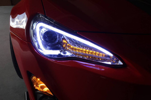 Spec-D headlight Chrome Housing