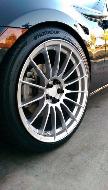 Enkei RS05-RR Silver 18x9.5 +43 5x100 (all four)