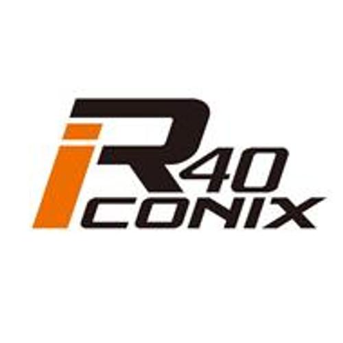 Black -Kics Project R40 Iconix Lug Nuts W/ Locks